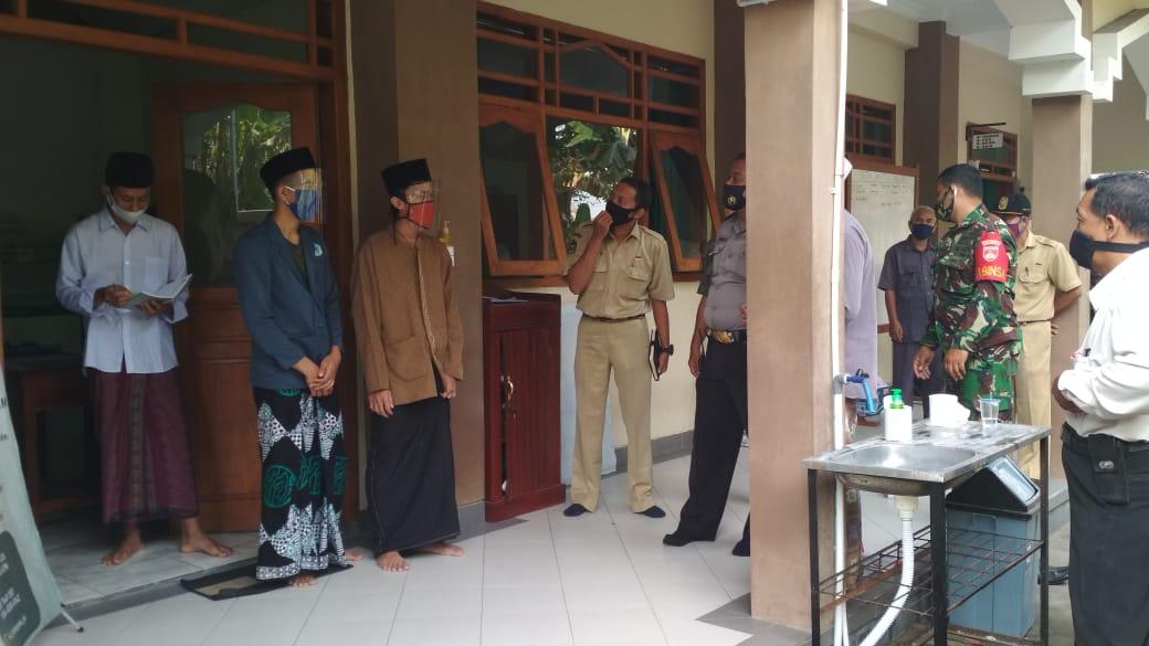 Verifikasi Persiapan Pembukaan Ponpes  Masa Pandemi Covid-19 di Kota Yogyakarta Tahun 2020